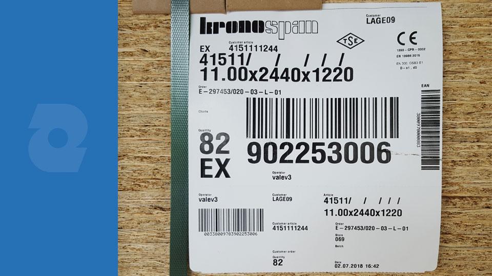 OSB ploče debljine 11mm