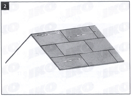 Površina krova - uputstvo za postavljanje tegole