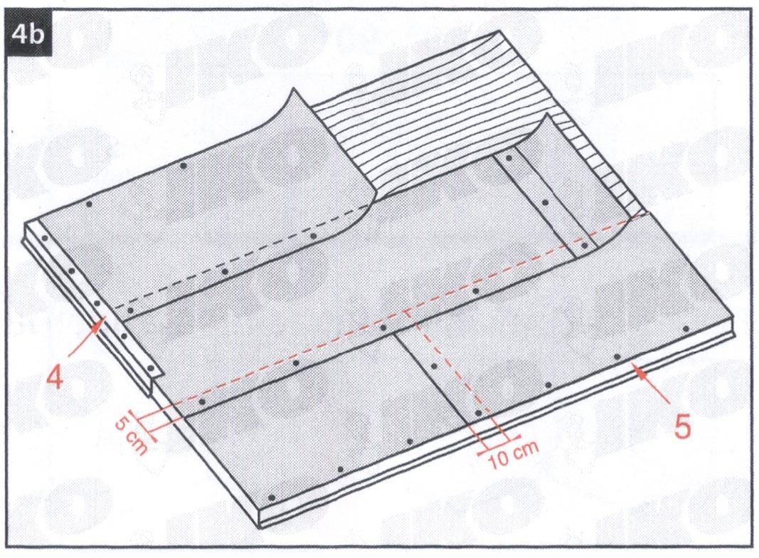 Krovni nagib 21-85 stepeni - uputstvo za postavljanje tegole