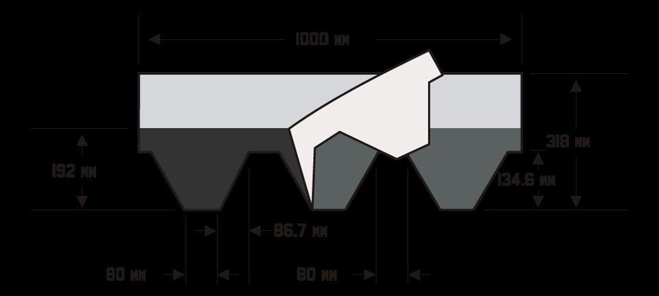 Tegola - ilustracija vrste Armourshield