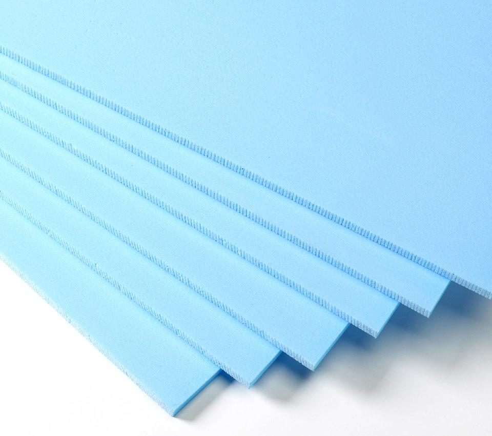 Plavi stirodur XPS