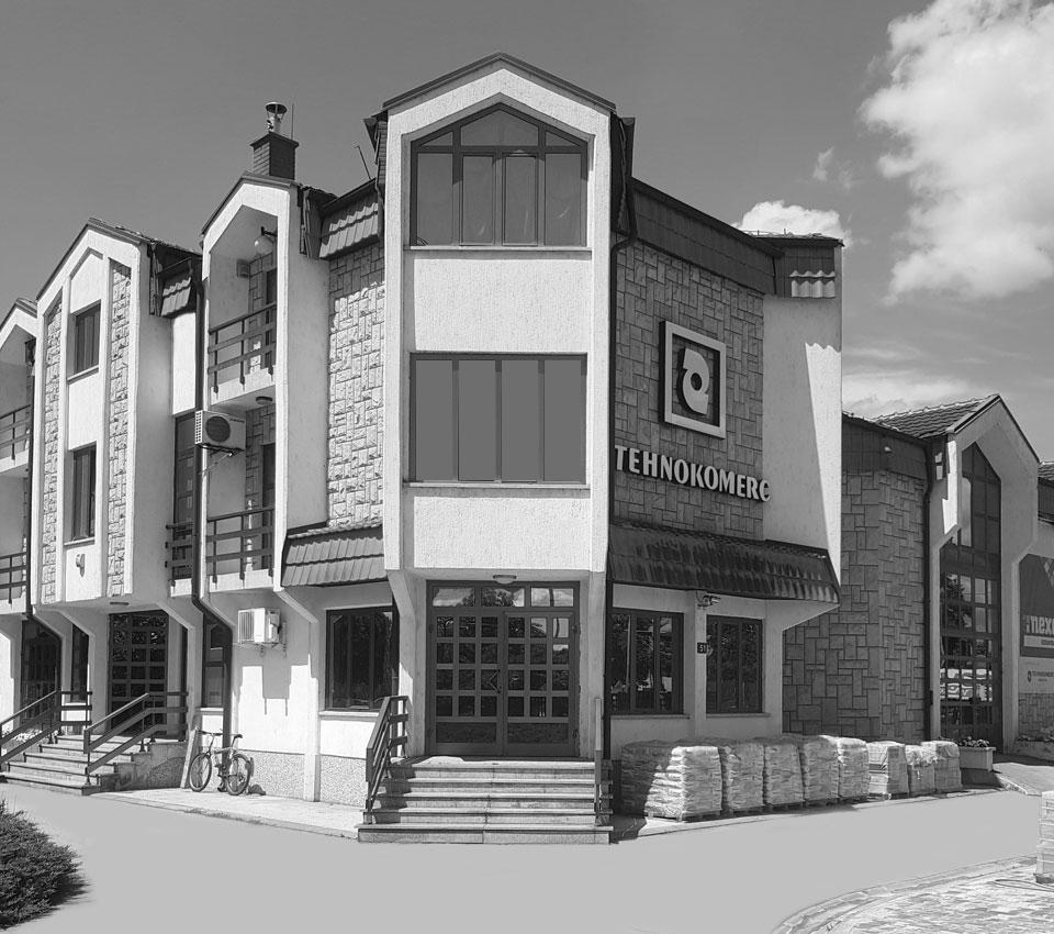 Upravna zgrada - Tehnokomerc Kruševac