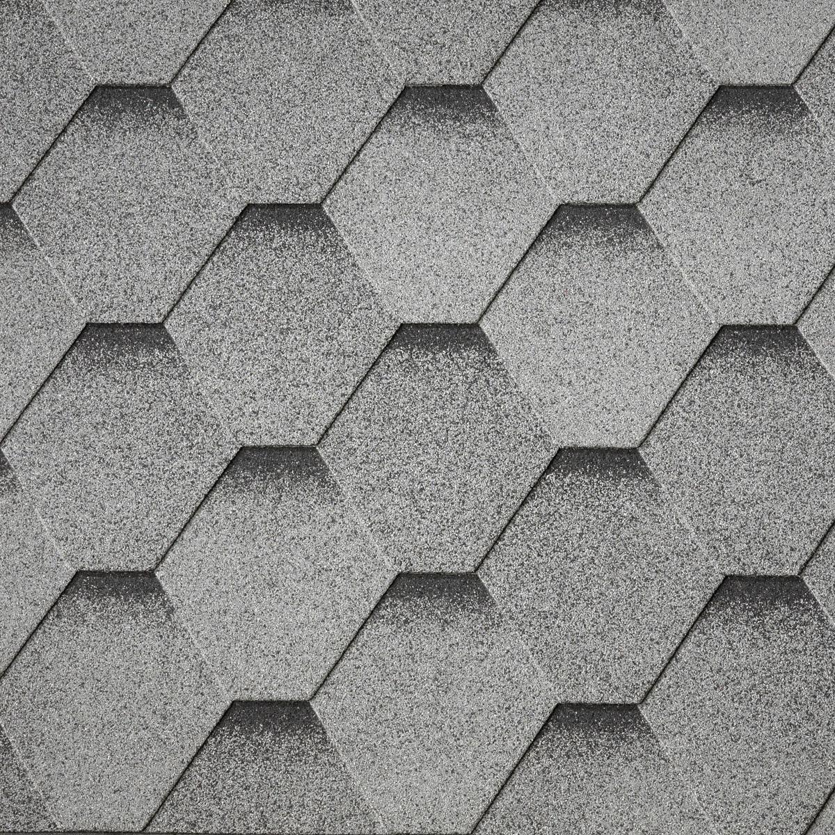 Tegola ArmourShield HEX (28) - Ultra Granitno Siva