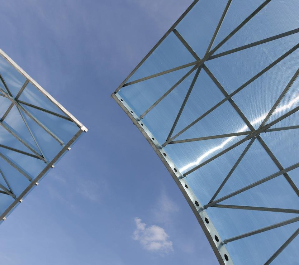 Leksan polikarbonatna ploča - zastakljivanje stadiona i tribina